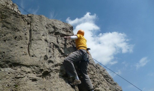 Teamplay Outdoor Activities Derbyshire - Climbing