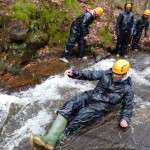 Teamplay Outdoor Activities Derbyshire - Gorge and Stream Walking