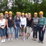Teachers team Abseil